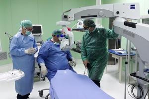 L'ex ospedale ora Pta ospita il Servizio di Chirurgia Oculistica