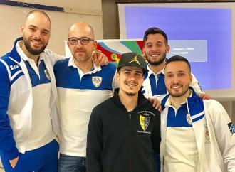 Quattro lucerini nella nazionale italiana sbandieratori