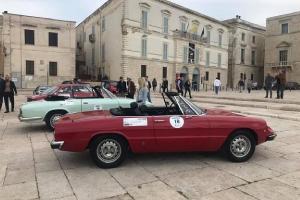 """Conclusa la rievocazione di """"Targa di Puglia"""" con 25 auto d'epoca"""