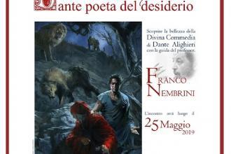 Nembrini, esperto di Dante, tiene incontro sulla Scalinata Virgiliana