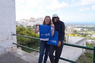 Blogger in bici visitano e raccontano la Puglia nel mondo