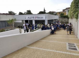 In una scuola Agor@teca, la sesta biblioteca di comunità pugliese