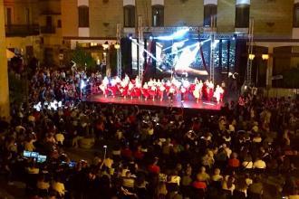 Il gala di danza sportiva torna ad animare la piazza