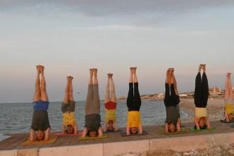 Gli yogi pugliesi celebrano l'International Yoga Day