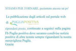 Puglia positiva è solo su Facebook