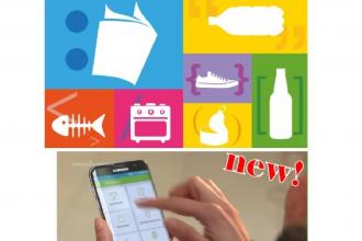 Un'app per aiutare nella raccolta differenziata dei rifiuti