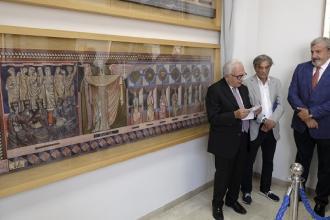 Donati alla Regione due pannelli artistici dei fratelli Spizzico