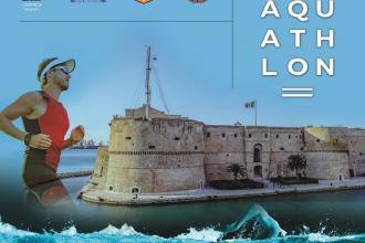 Due mari e ponte girevole scenari di Aquathlon per il Trofeo del Mare
