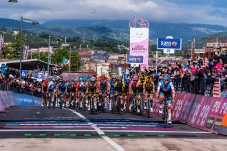 Partirà da Castrovillari la prima delle 2 tappe pugliesi del Giro