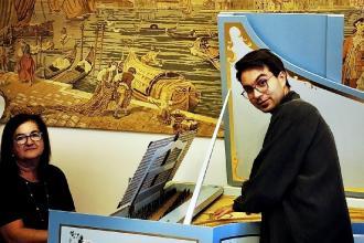 Il Festival pianistico parte il 22 dedicato alla patrona della musica
