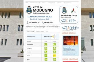 Nuovo Piano di Protezione Civile, un sito web e un app per i modugnesi