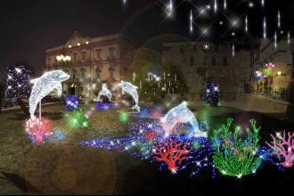 Natale, la città di Taranto sarà addobbata con le luminarie d