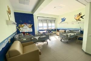 Ristrutturata e riaperta la Pediatria dell'ospedale 'Camberlingo'