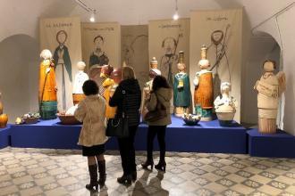 Il presepe del ceramista De Siati vincitore del Premio Unico