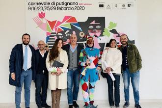 Nuovo logo per il Carnevale di Putignano