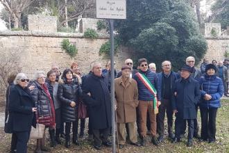 Nel Giorno della Memoria intitolato piazzale al soldato Pagliula