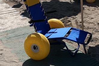 Una spiaggia pubblica sarà accessibile ai disabili