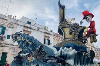 Il 626° Carnevale di Putignano vinto da