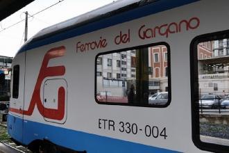 Un treno 'prova' per collegare il Gargano con la città di Bari