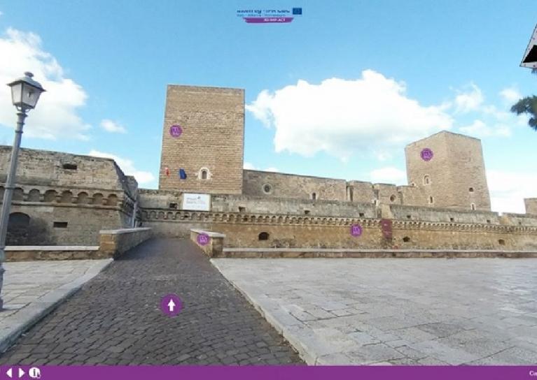 Una piattaforma per visitare monumenti di Puglia, Albania e Montenegro