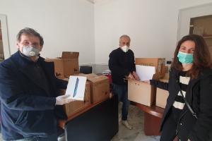 Computer e tablet donati per la teledidattica ai ragazzi bisognosi