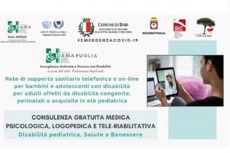 E' attivo il progetto per consulenza gratuita ai disabili