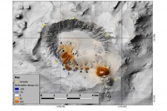 Ricercatori baresi impegnati in studi sui vulcani sottomarini