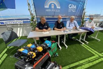 Le acque marine pugliesi promosse dall'Arpa con il lavoro del Crm